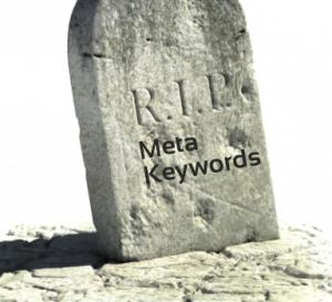 meta keywords demise